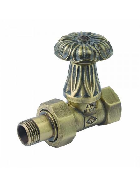 Дизайнерские клапаны Carlo Poletti с ручкой для чугунных радиаторов, прямой, оригинал