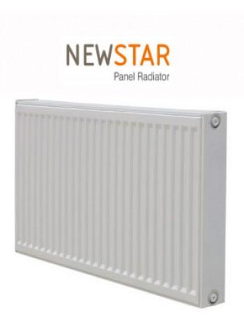Стальные радиаторы Newstar 22 тип 500 нижнее