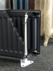 Напольный кронштейн 200 | 300 | 500 | Консоль напольная для стального радиатора