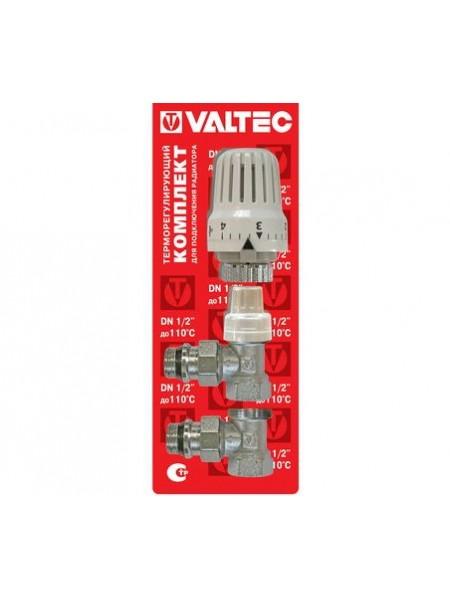 Комплект радиаторного подключения Valtec VT.045.N  угловой