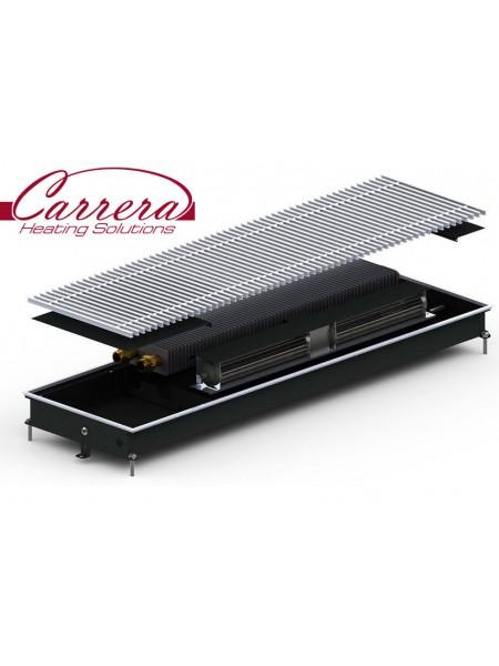 MV (CV) Inox/Black 65 | Внутрипольные конвектора CARRERA c вентилятором