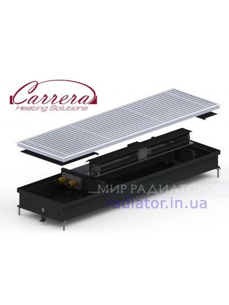 SV (CV)/SV2 (CV2) Inox/Black 90/120 | Внутрипольные конвектора CARRERA с вентилятором