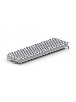M (C)/M2 (C2) Inox/Black 65 | Внутрипольные конвектора CARRERA без вентилятора