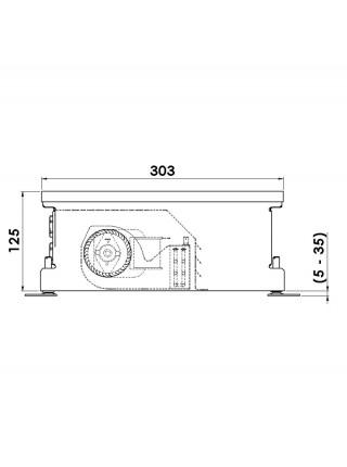 COIL-TE | Внутрипольные конвектора MINIB с вентилятором