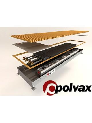 Polvax внутрипольные конвектора с вентилятором, KV/KVM