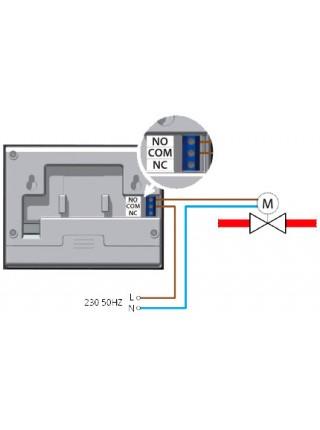 Комнатный настенный термостат VER 15S для естественной конвекции