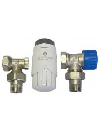 Комплект термостатический Schlosser Standart